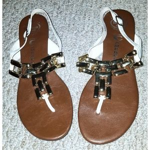 Jeffrey Campbell ibiza last sandals sz 8